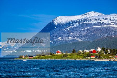 Oldervik area near Tromso, Norway
