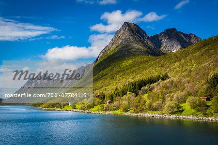 Gryllefjord, Senja Island, Troms, Norway