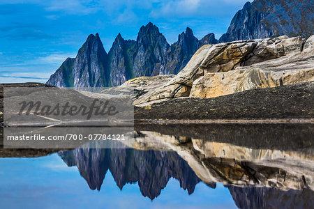 Devil's Teeth, Tungeneset, Senja Island, Norway