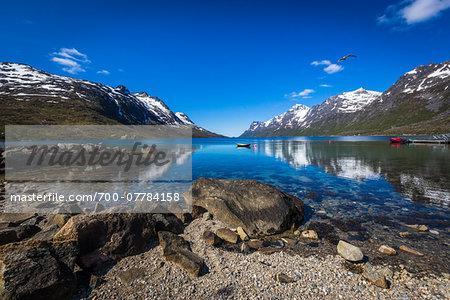 Ersfjordbotn, Kvaloya Island, Tromso, Norway