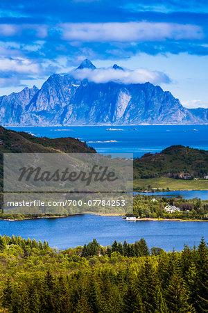 Hagskaret, Vestvagoy, Lofoten Archipelago, Norway