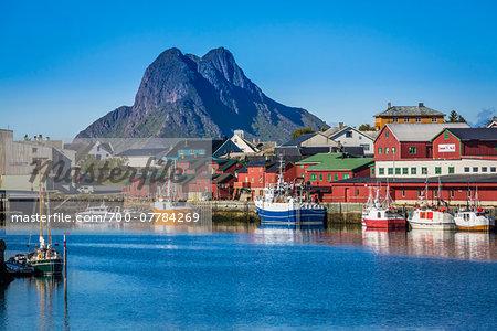 Stamsund, Vestvagoya, Lofoten Archipelago, Norway