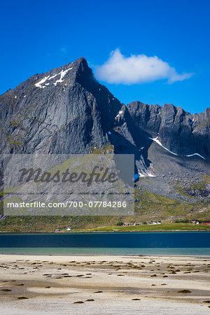 Bo, Flakstadoya, Lofoten Archipelago, Norway