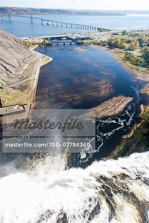 Montmorency Falls, Montmorency Falls PArk, Quebec, Canada