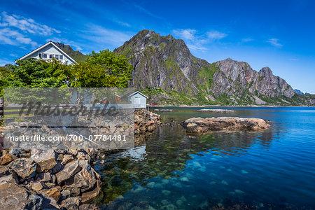Svolvaer, Austvagoya, Lofoten Archipelago, Norway