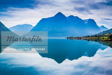 Fosnes on Lake Strynsvatn, Nordfjord, Norway