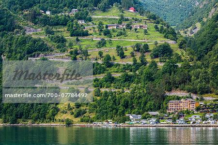 Geirangerfjord, Geiranger, More og Romsdal, Norway