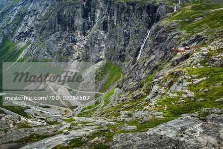 Viewing Platform over Trollstigen, More og Romsdal, Norway