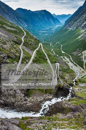 Trollstigen, More og Romsdal, Norway