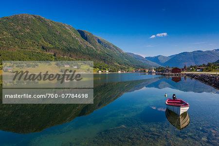 Sognesand, Kjosnesfjord, Sogn og Fjordane, Norway