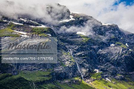 Sorfjorden Fjord, Hordaland, Norway