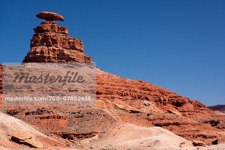Rock formation, Mexican Hat, San Juan County, Utah, USA