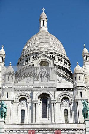 Basilique du Sacre Coeur, Montmartre, Paris, France