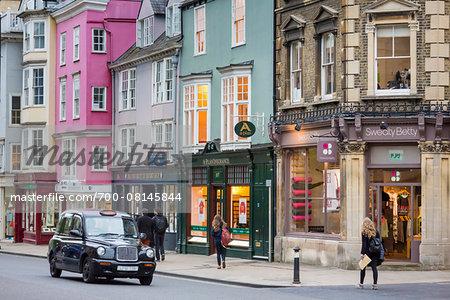 High Street, Oxford, Oxfordshire, England, United Kingdom