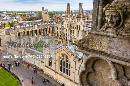 All Souls College, Oxford University, Oxford, Oxfordshire, England, United Kingdom
