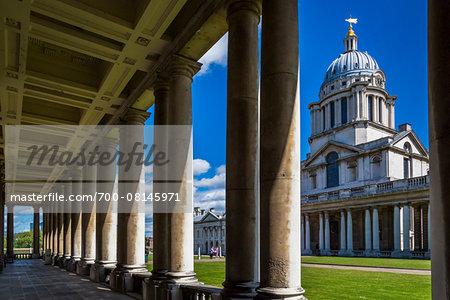 Old Royal Naval College, Greenwich, London, England, United Kingdom