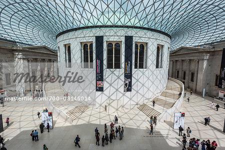 Queen Elizabeth II Great Court, British Museum, Bloomsbury, London, England, United Kingdom