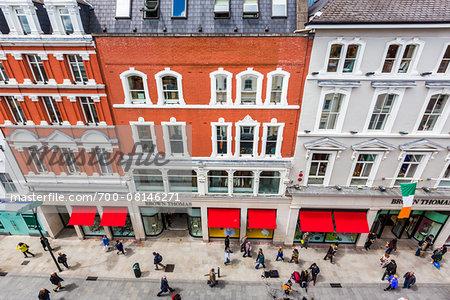 Grafton Street, Shopping Area, Dublin, Leinster, Ireland
