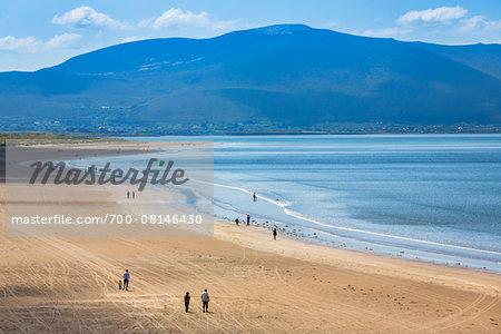 The Inch Strand beach, Dingle, County Kerry, Ireland