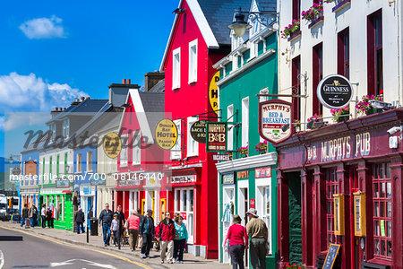 Quay Street, Dingle, Dingle Peninsula, County Kerry, Ireland
