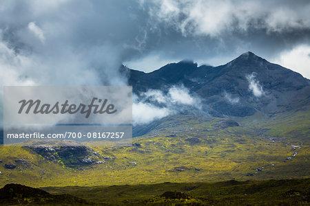 Scenic near Sconser, Isle of Skye, Scotland, United Kingdom