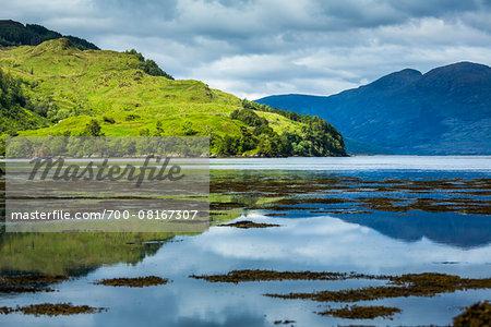 Dornie, Scottish Highlands, Scotland, United Kingdom