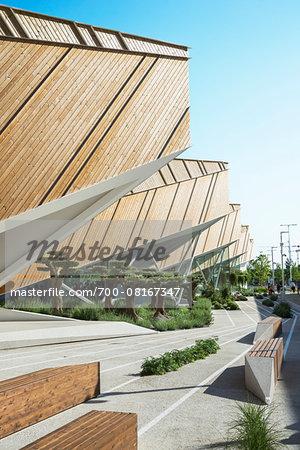 Slovenia Pavilion, designed by SoNo arhitekti at Milan Expo 2015, Italy