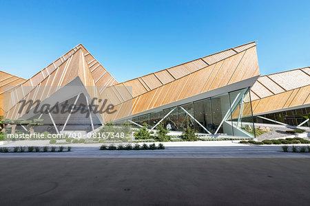 Slovenia Pavilion designed by SoNo arhitekti at Milan expo 2015, Italy