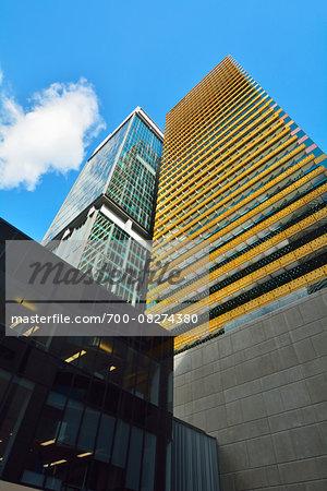 Skyscrapers, 400 George Street and Santos Place, Brisbane, Queensland, Australia