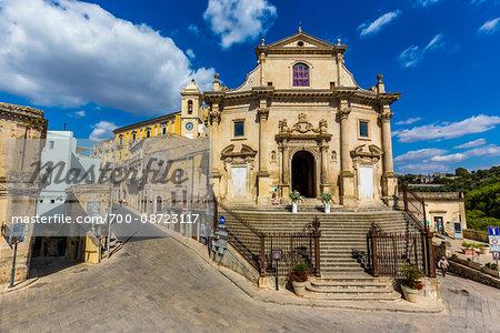 Holy Souls in Purgatory Church (Chiesa Anime Sante del Purgatorio) in Ragusa in Sicily, Italy
