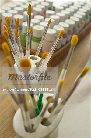 Assorted Paintbrushes