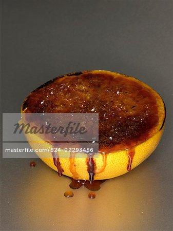 Grapefruit with Caramelised Sugar