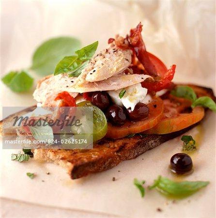 Open Partridge Sandwich