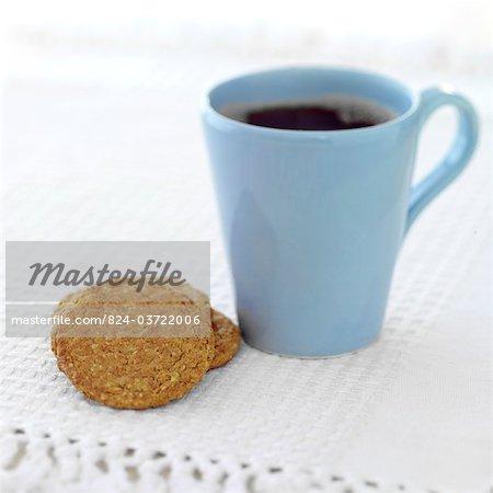 Hobnob Biscuit and black tea