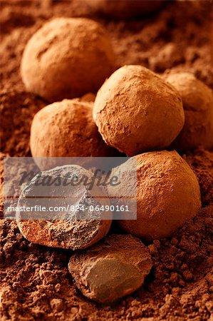 Chocolate Truffles - with recipe step shot