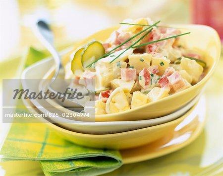 Salad à la strasbourgeoise