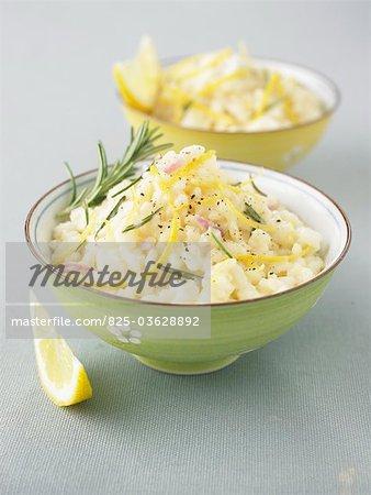 Lemon and rosemary Risotto