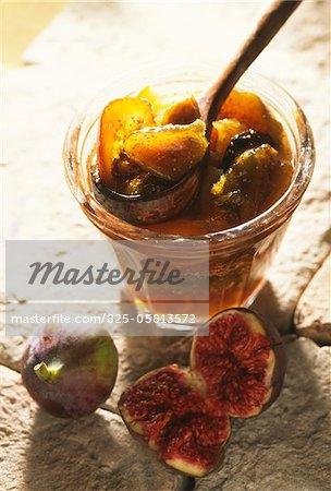 Jar of fig jam