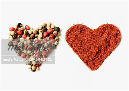 Spicy hearts
