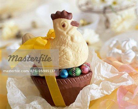 Chocolate chicken
