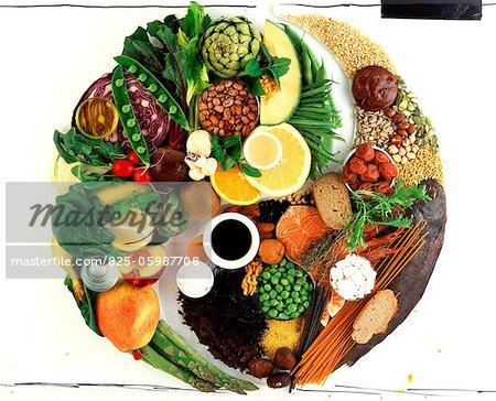 Yin and Yang foodstuffs