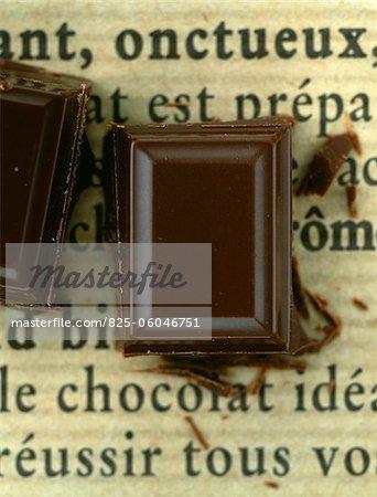 Square of chocolate