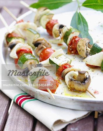 Vegetable brochette