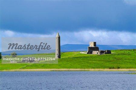 Devenish Monastic Site, Co. Fermanagh, Ireland