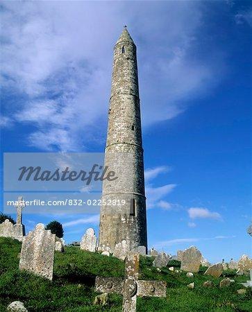 Ardmore Round Tower, Ardmore, Co Waterford, Ireland