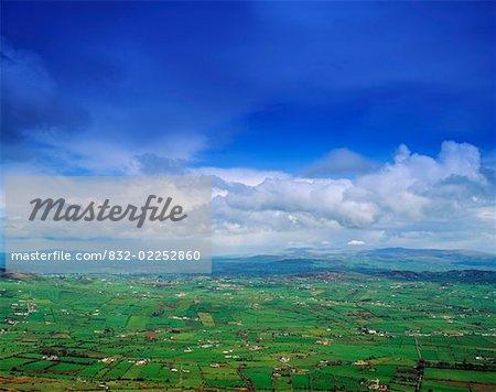 Farmscape near the Border, County Armagh, Ireland