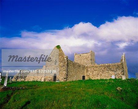 Burrishoole Priory, near Newport, Co Mayo, Ireland, 15th Century Dominican Priory