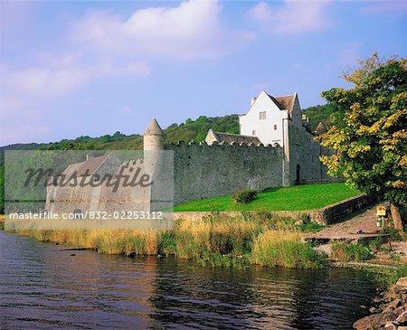 Parkes Castle, Co Leitrim, Ireland