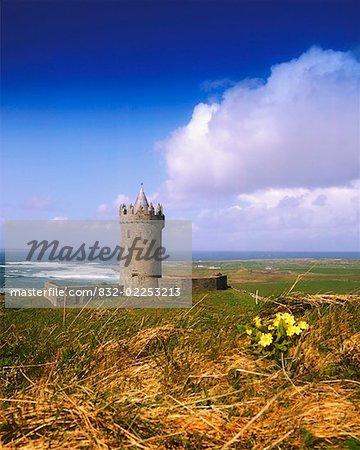 Co Clare, Doolin Castle, Doolin