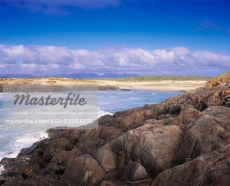 Mannin Bay, Connemara, Co Galway, Ireland